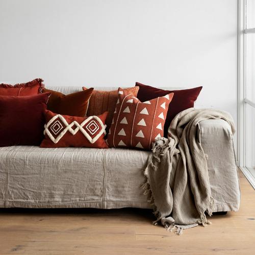 L & M Home Gemini Cotton Cushion