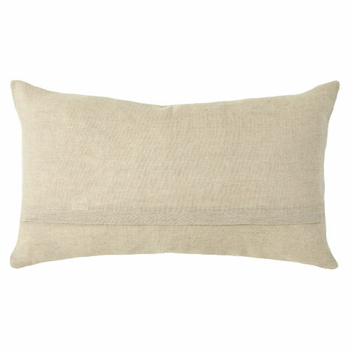 L & M Home Blue Nest Linen Cushion