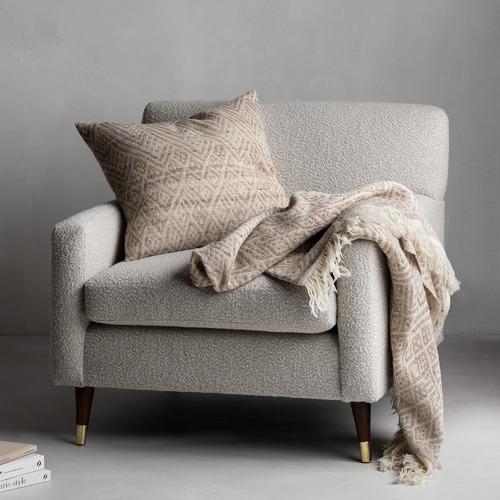 Multi-Colour Milano Wool-Blend Cushion