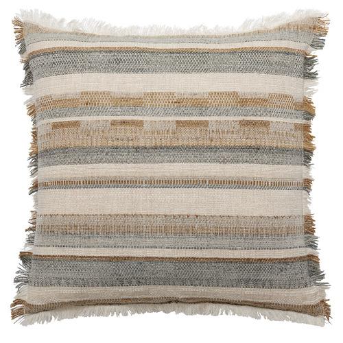 Sand Amalfi Wool-Blend Cushion