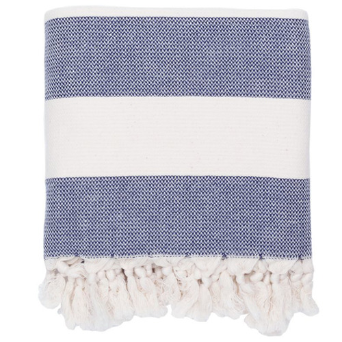 Saarde Kapitan Turkish Cotton Throw
