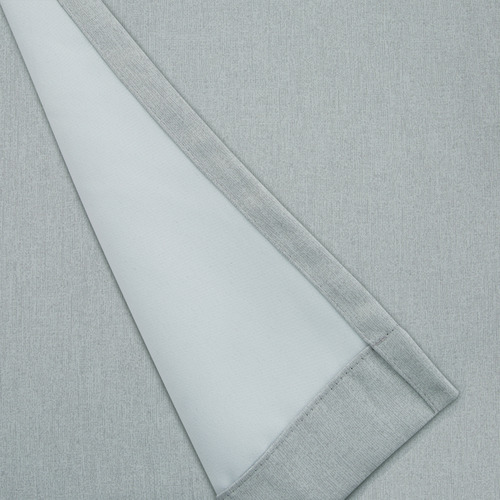 Nettex Smoke Bowen Single Panel Eyelet Curtain