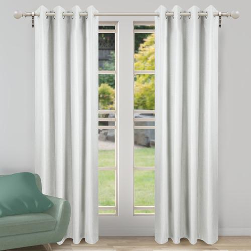 Nettex Parchment Porter Single Panel Eyelet Curtain