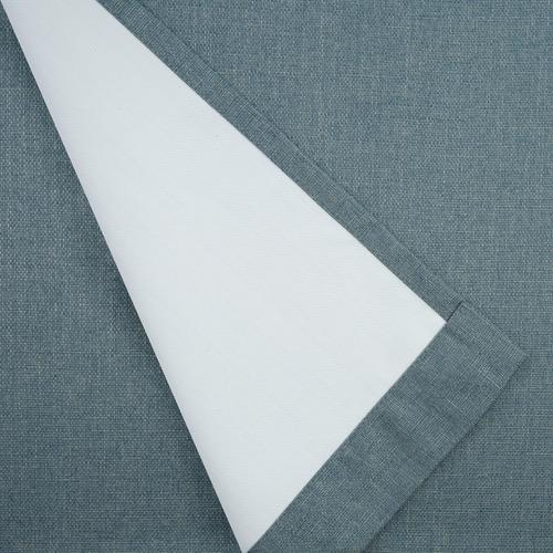 Nettex Teal Porter Single Panel Eyelet Curtain