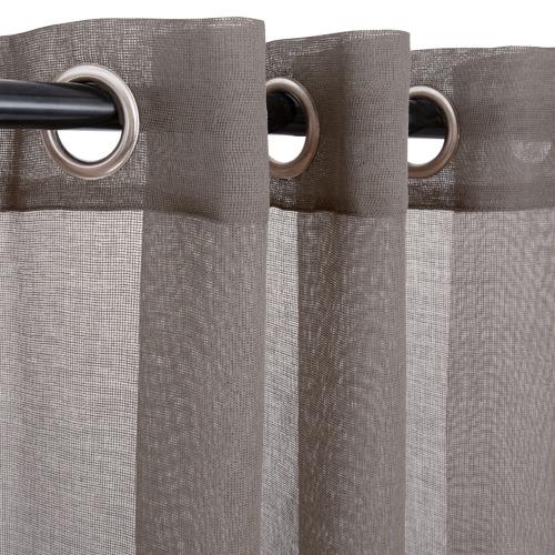 Nettex Stone Urban Single Panel Eyelet Curtain