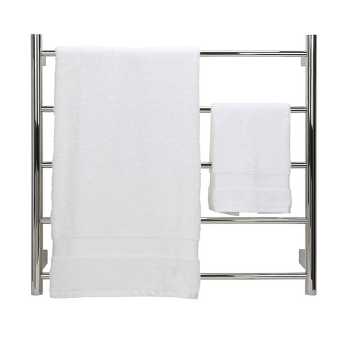 Aguzzo Round Tube EZY FIT Dual Wired Heated Towel Rail