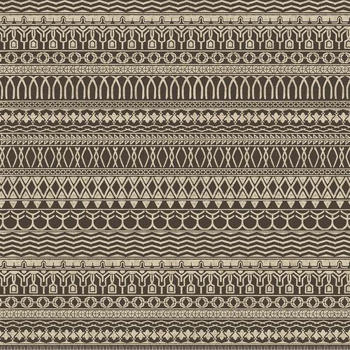 Ruggable Espresso Cadiz Tribal-Style Rug