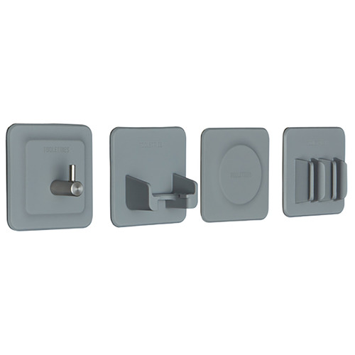 Tooletries 4 Piece Tile Series Toiletries Holder Set
