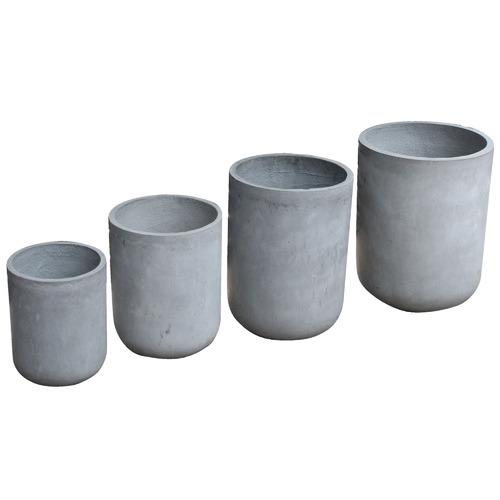 Flex Furniture 4 Piece Fibre Clay Pot Set