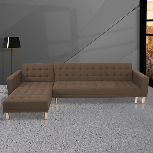 Flex Furniture Brown Ultima 4 Seater Sofa Bed