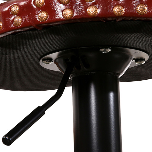 Levede Tehya Faux Leather Adjustable Barstools