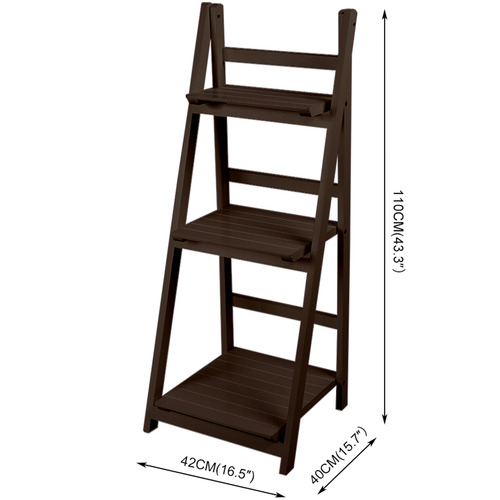Levede Ashanti 3 Tier Ladder Wall Shelf