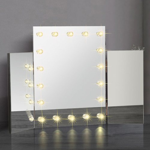 Levede Brielle LED Dressing Table Mirror