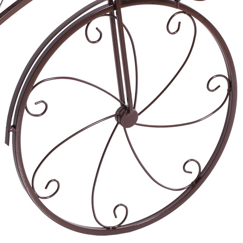 Levede Mara Bicycle Metal Pot Plant Stand