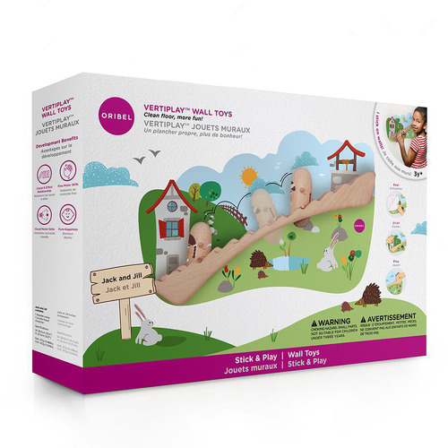 Levede Jack & Jill Oribel VertiPlay Wall Sticker Toy