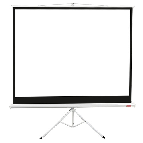 Levede White Portable Screen Projector with Tripod Stand