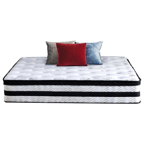 Levede Medium Sleepzone Hybrid Euro Top Mattress