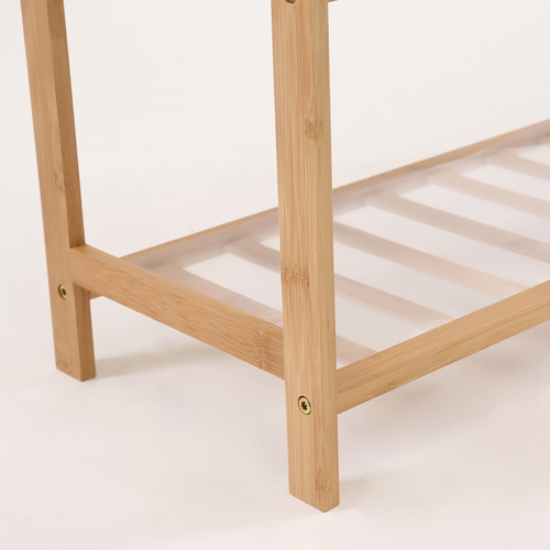Levede Natural Geraldine 5 Tier Bamboo Shoe Rack