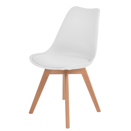 Levede Eames Replica Faux Leather Dining Chairs