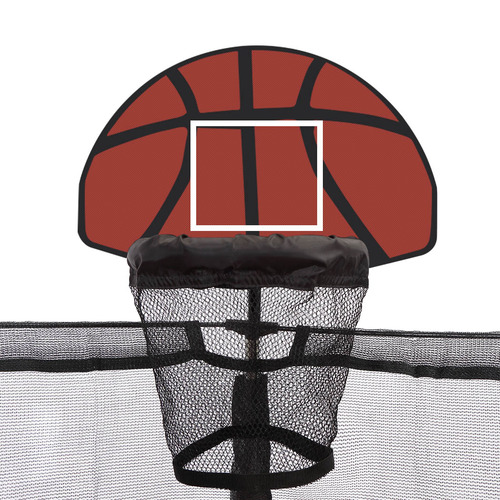 Levede 6 Pole Trampoline with Basketball Set