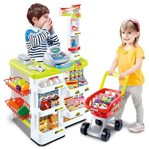 Gem Toys Kids' Supermarket Play Set