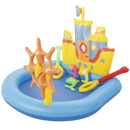Gem Toys Inflatable Tug Boat Play Pool