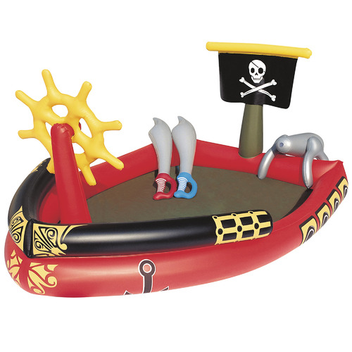 Gem Toys Inflatable Pirate Play Centre