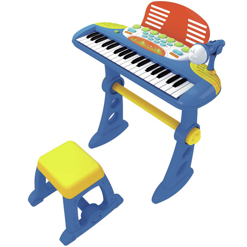 Lenoxx Electronic Keyboard with Stand & Stool