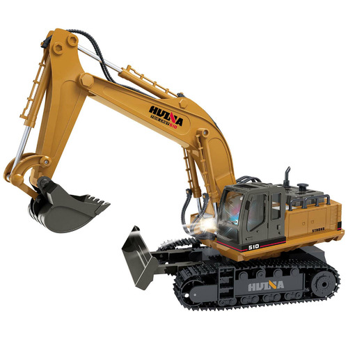Lenoxx 11 Channel Remote Controlled Excavator Toy Truck