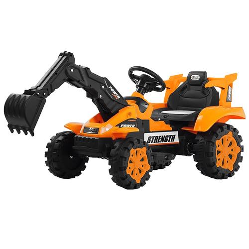 Lenoxx Kids Orange Ride-On Excavator