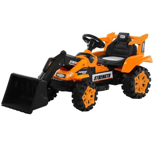 Lenoxx Kids Orange Ride-On Front Loader