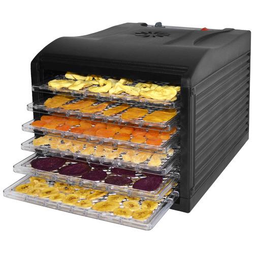 Lenoxx Black 6 Tray Food Dehydrator
