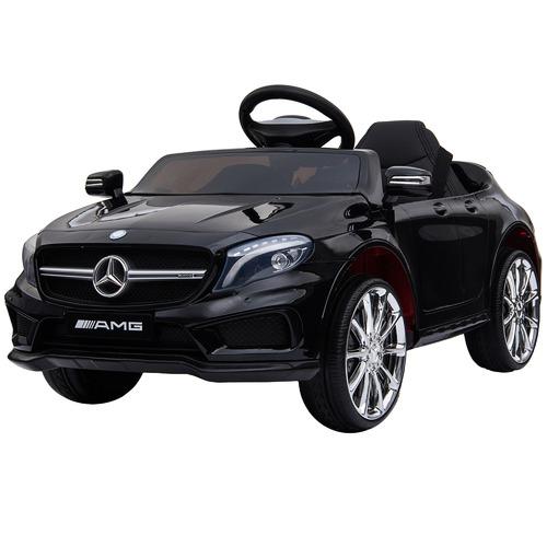 Lenoxx Black Licensed Mercedes Ride-On Car