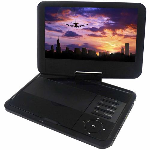 Lenoxx 23cm Swivel Portable DVD Player