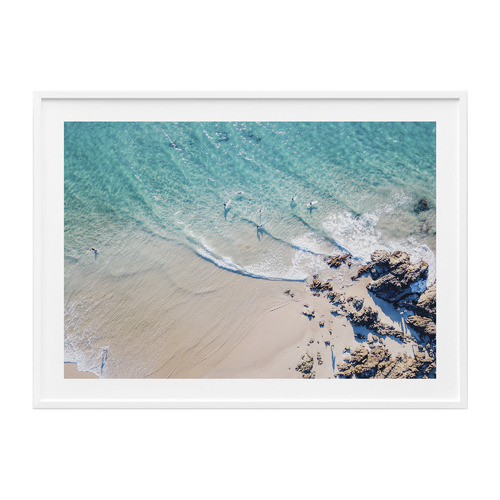 41 Orchard Byron Bay The Pass Framed Print