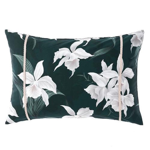 Mist Cattleya Cotton Sateen Cushion