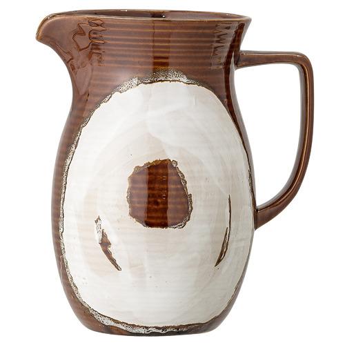 Brown Willow Stoneware Water Jug