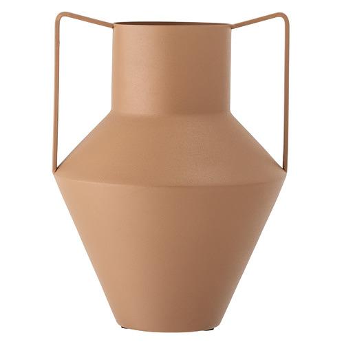 Brown Metal Vase