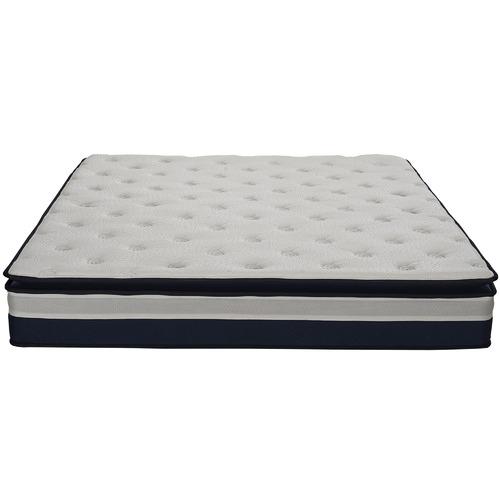 Dream Mattress Medium Latex Pillow Top Pocket Spring Mattress