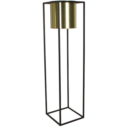 Maine & Crawford Tall Cubo Flower Metal Plant Pot Holder