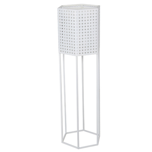Maine & Crawford Aliz Hexagon Metal Plant Stand