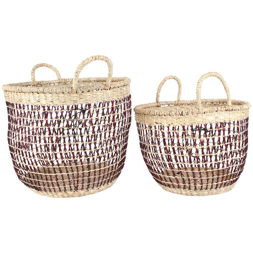 Maine & Crawford 2 Piece Blake Bulb Basket Set