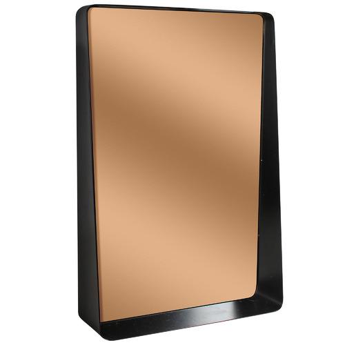 Maine & Crawford Bagi Copper-Coloured Rectangular Wall Mirror