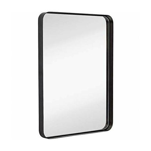 Maine & Crawford Black Melanie Rectangular Mirror