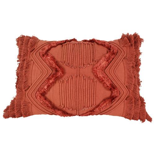 Jethro Embroidey & Tufted Cushion