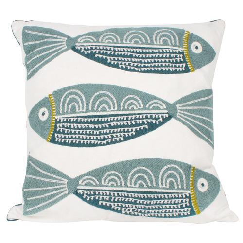 Finley 3 Fish Cushion