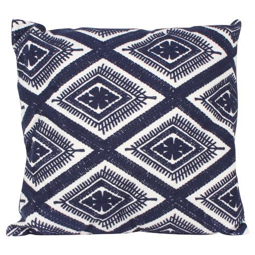Wonder Geo Embroided Cushion
