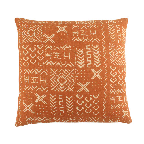 Lyric Printed Cotton Cushion