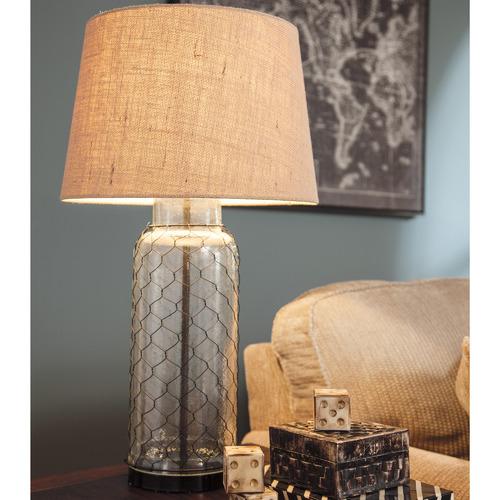 Jasper Home living Domaine Glass Table Lamp