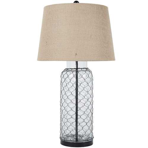 Jasper Home living Sharmayne Glass Table Lamp